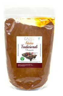 Adobo Tradicional Oaxaqueño En Pasta Reducido En Grasa 1kg