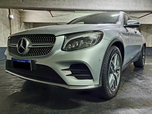 Mercedes Benz Glc 300 Coupe Año 2017 Color Gris As Automobil