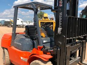 Montacargas Forklift 3.7 Ton Toyota 3.40 M Altura 8000lbs