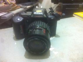 Câmera Nikon Af N4004 Analógica Objetiva 70-210 Mm