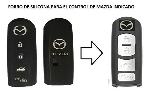 Protector Forro Control Llave Mazda 2 3 6 Cx5 Cx7 Cx9