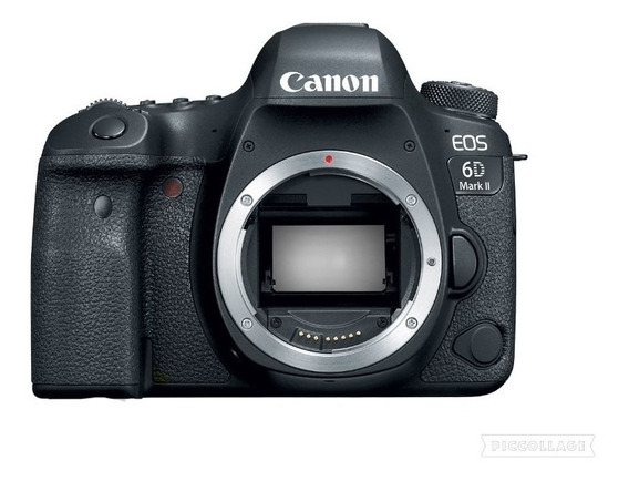 Câmera Canon Dsl Eos 6d Mark Ii (somente Corpo)
