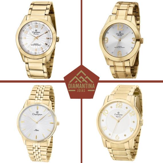 Kit Atacado 4 Relógios Champion Feminino Originais Com Nota Fiscal E Garantia