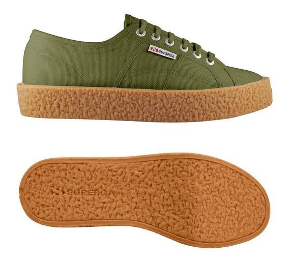 Zapatillas Superga - 2750 - Cotu Mega Paura - Green Capulet