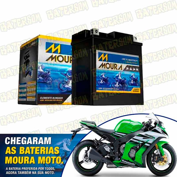 Bateria Moura Moto 11ah Kawasaki Zx-10r