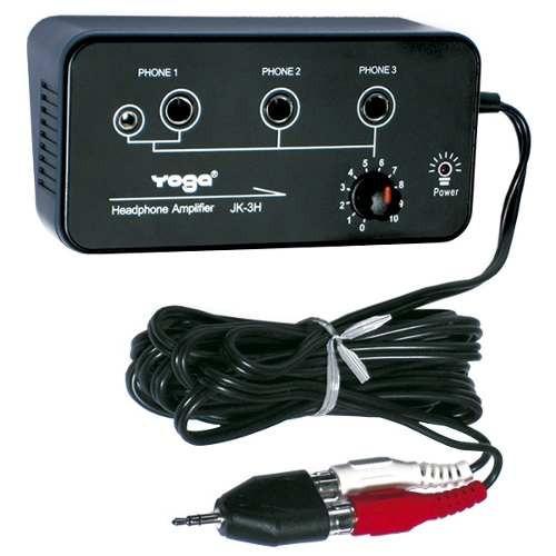 Amplificador P/ Fone De Ouvido Jk 3 H Yoga - Oferta