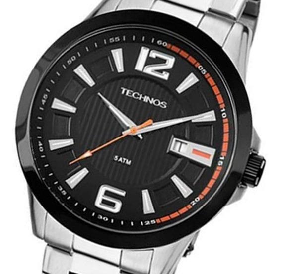 Relógio Technos Masculino 2115knv/1p, C/ Garantia E Nf