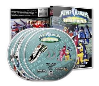 Dvds Power Rangers Força Do Tempo Série Completa