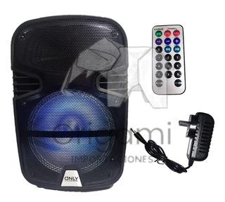 Parlante 12 Pulgadas Mod O-p15 Bluetooth, Inalámbrico +mic