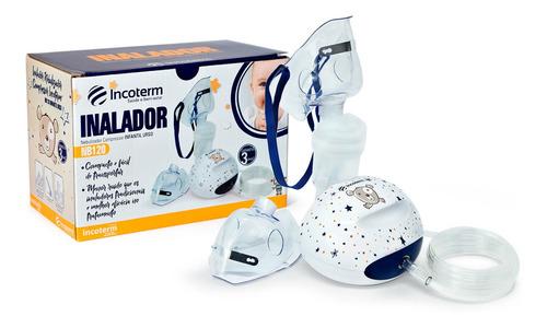 Nebulizador Inalador Compressor Infantil Urso Incoterm