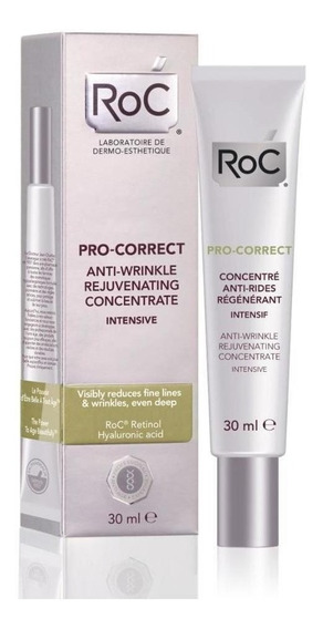 Pro-correct Fluído Antirrugas Roc Rejuvenescedor Conc. 30ml