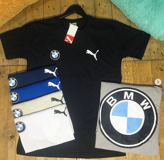 Camiseta Masculina Puma Bmw