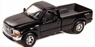 Miniatura Ford F-350 Super Duty Pickup 1999 Preto 1:27