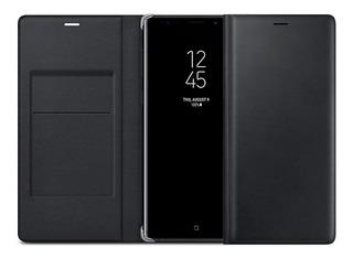 Capa Original Samsung De Couro C/ Porta Cartão Galaxy Note 9