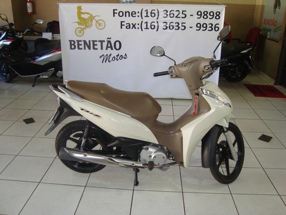 Honda Biz 125 Ex Branco 2018
