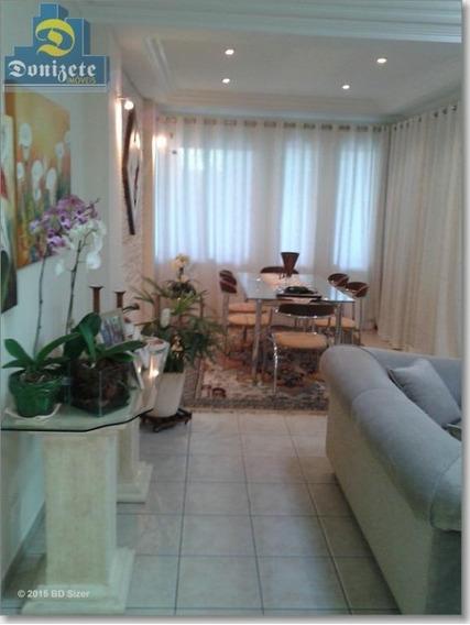 Sobrado Com 3 Dormitórios À Venda, 200 M² Por R$ 990.000,00 - Jardim - Santo André/sp - So1195