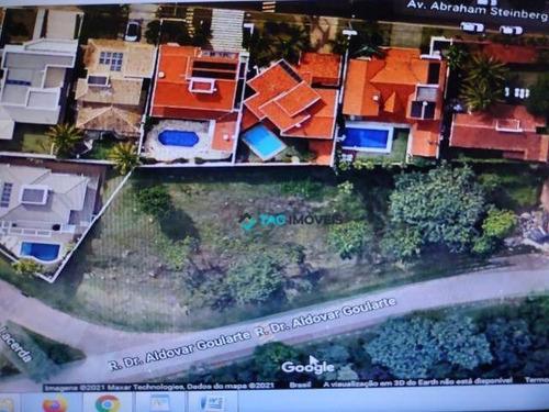 Imagem 1 de 2 de Terreno À Venda, 2154 M² Por R$ 4.500.000,00 - Bairro Das Palmeiras - Campinas/sp - Te0346