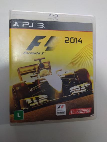 Jogo Fórmula 1 2014 Original Para Playstation 3