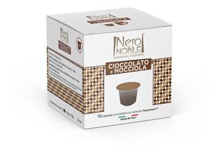 40 Capsulas De Chocolate Com Avela Para Nespresso