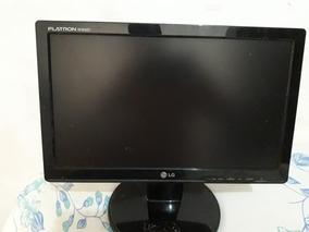 Monitor Lcd Usado Marca Lg Wide 16 Polegadas Usado