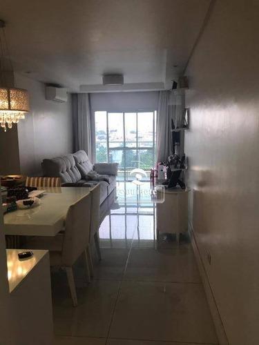 Apartamento À Venda, 106 M² Por R$ 730.000,01 - Vila Guiomar - Santo André/sp - Ap10916