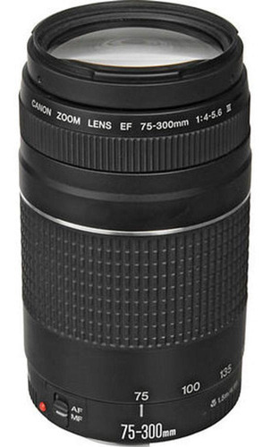 Lente Canon Ef 75-300mm F/4-5.6 Iii, A Pronta Entrega.
