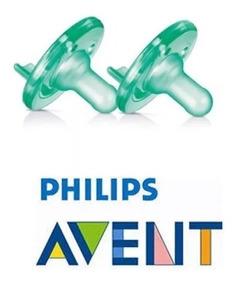 Chupeta Calm Soothie Philips Avent 0-3m Bico Anti Colic 2un