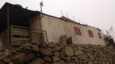 Terreno Con Casa Prefabricada En Jicamarca