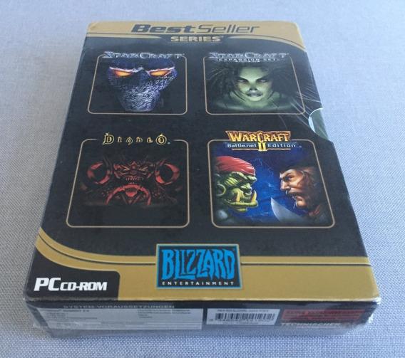 Blizzard Big Box - Starcraft + Diablo + Warcraft 2 (lacrado)