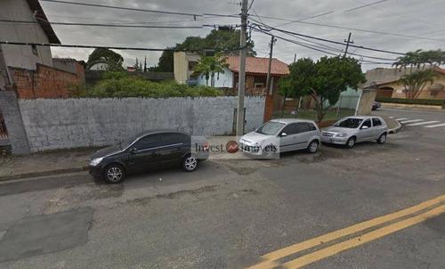 Terreno Residencial À Venda, Jardim Portugal, São José Dos Campos. - Te0444