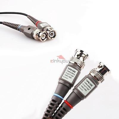 1/y 1 1 TNP osciloscopio Clip sondas 100/mhz 10 600/V conmutable de alta sensibilidad con Mini Alligator Clip y terreno Recambio Kit de accesorios para exploraci/ón ATTEN Owon Siglent X10//X1