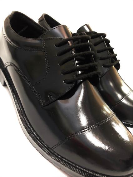 Sapato Social Militar Preto Ou Marron