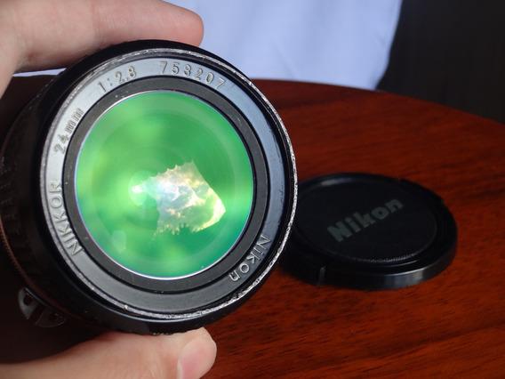 Lente Nikon Nikkor 24mm F/2.8 Ai-s