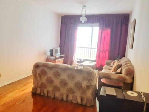 Apartamento Com 3 Dormitórios À Venda, 122 M² Por R$ 852.000,00 - Higienópolis - São Paulo/sp - Ap2636