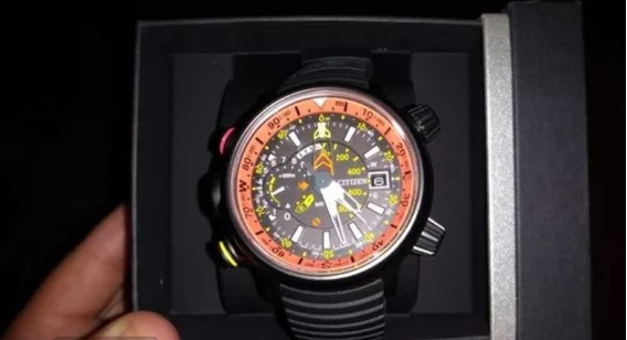 Relógio Citizen Altichron Promaster Ecodrive