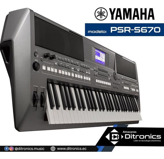 Teclado Sintetizador Yamaha Psr S670