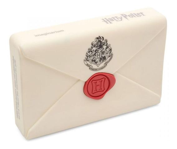 Carregador Portatil Harry Potter Carta De Hogwart