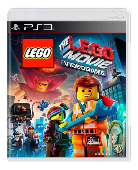 Game - The Lego Movie Videogame - Ps3
