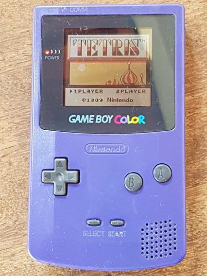 Game Boy Color Nintendo - Funcionando Com Cartucho