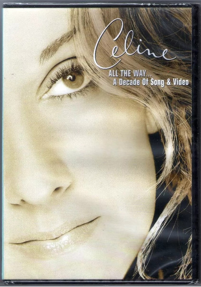 Dvd Celine Dion - All The Way A Decade Of Songs E Video -