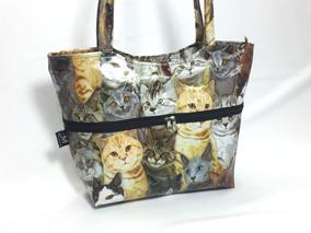 Bolsa De Gatos Gatinhos + Necessaire