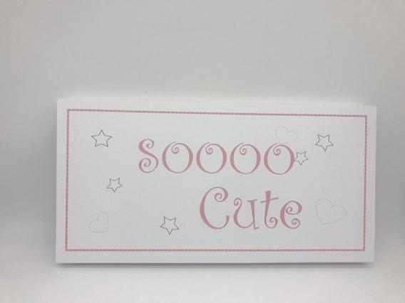 Quadro Moderninho Sooo Cute - Divino Talento Ref 7240