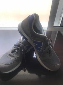 Tênis New Balance 565 Cinza E Azul