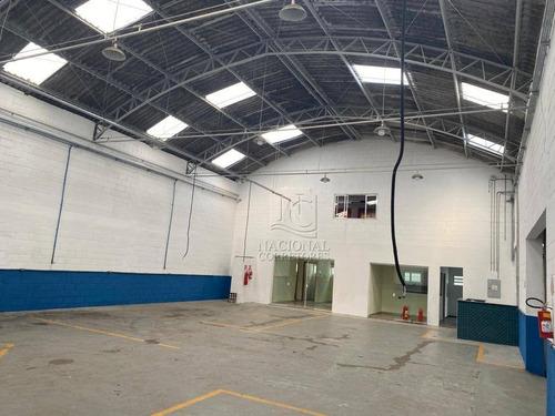 Galpão Para Alugar, 580 M² Por R$ 10.500,00/mês - Paulicéia - São Bernardo Do Campo/sp - Ga0773