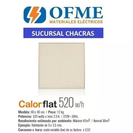 Calorflat 520w Placa Panel Calefactor - Ofme Chacras