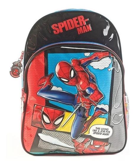 Mochila Spiderman Sense 16 Pulgadas Espalda Wabro 62302