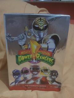 Dvd Box Coleção Power Rangers Importado