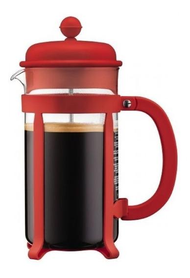 Cafetera Bodum Java Blanca Roja Negra 8 Poc Original Oferta