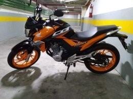 Honda Cbtwister 250 -laranja - 2019 Transferencia Urgente