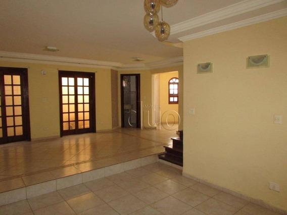 Casa Com 3 Dormitórios À Venda, 303 M² Por R$ 850.000,00 - Parque Santa Cecília - Piracicaba/sp - Ca2793